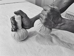 massage valbonne | ballotins massage | massage at home valbonne